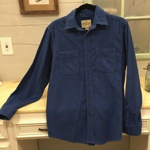 American living 100% cotton button up